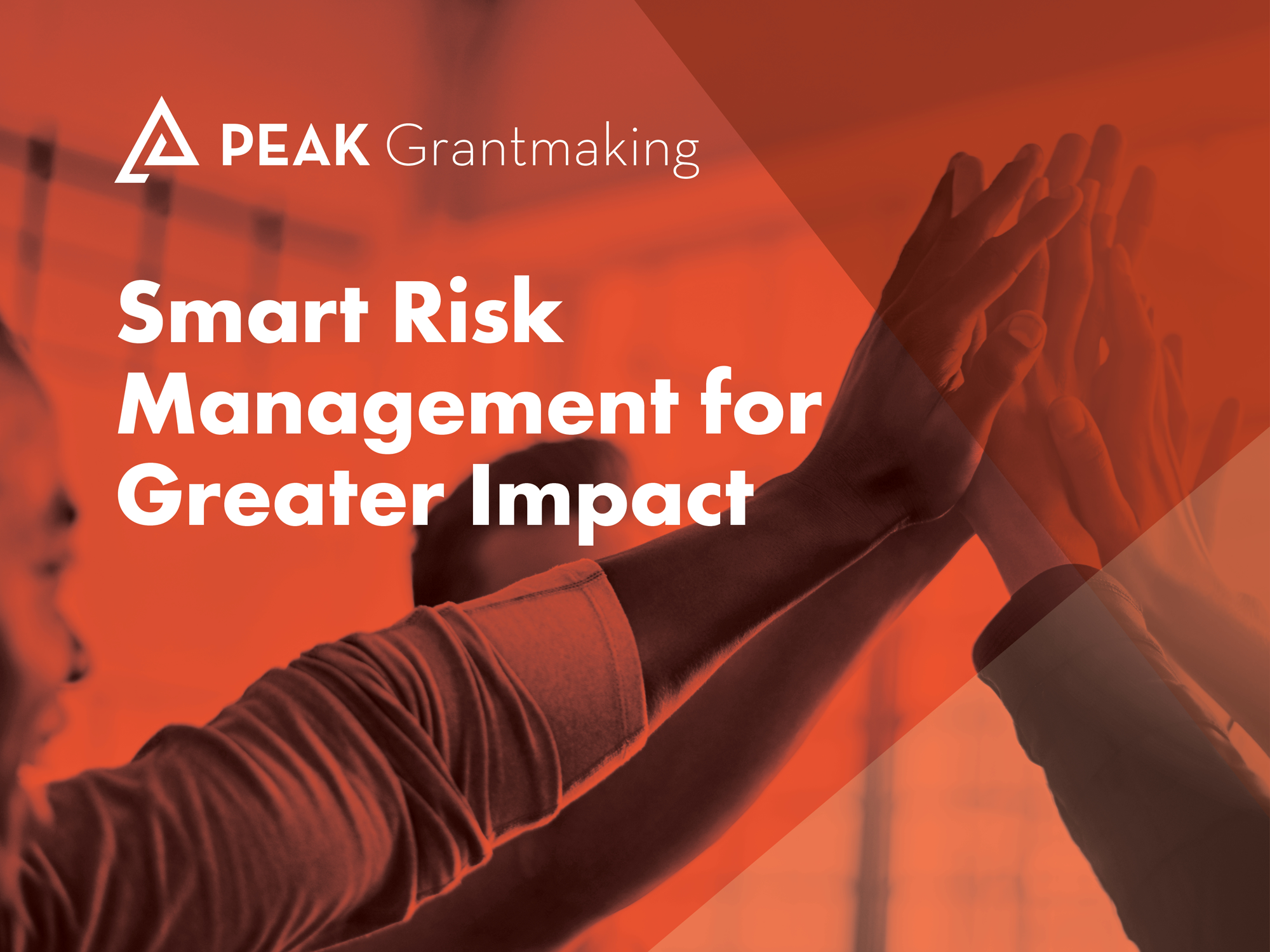 Smart Risk Management for Greater Impact